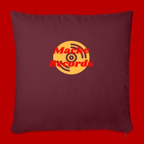 mackerecords merch - Soffkuddsöverdrag, 45 x 45 cm
