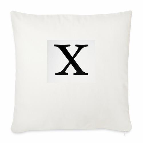 THE X - Sofa pillowcase 17,3'' x 17,3'' (45 x 45 cm)
