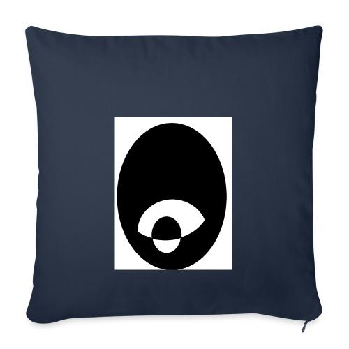 oeildx - Housse de coussin décorative 45x 45cm