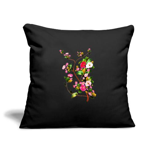 Cherry blossoms - Sofa pillowcase 17,3'' x 17,3'' (45 x 45 cm)