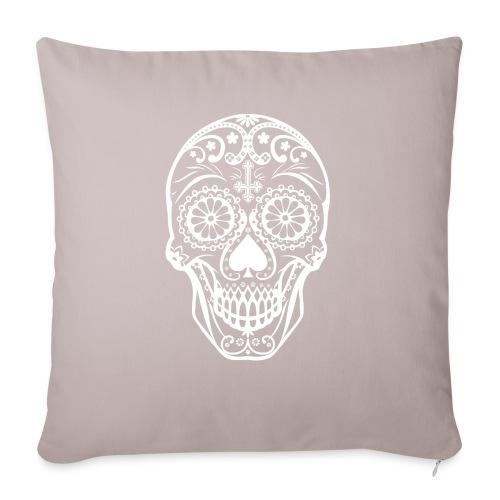 Skull white - Sofakissenbezug 44 x 44 cm