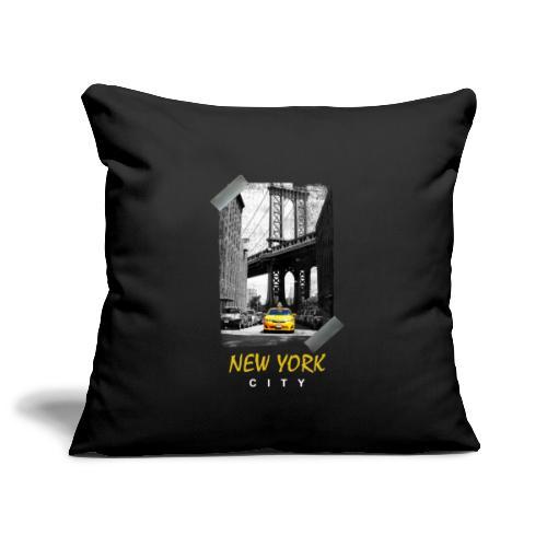 NEW YORK - Housse de coussin décorative 45x 45cm