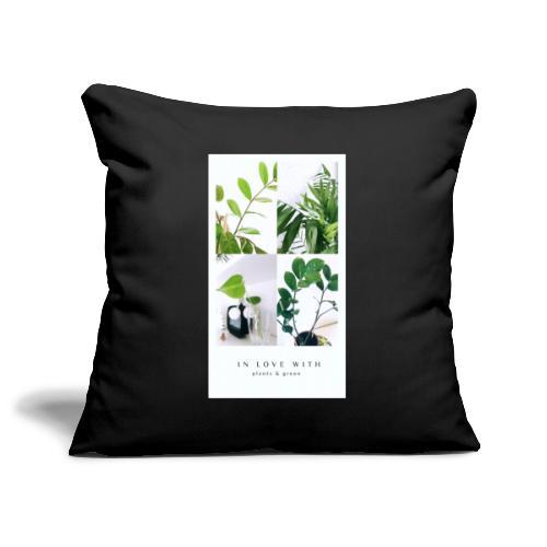Plants & green - Pudebetræk 45 x 45 cm