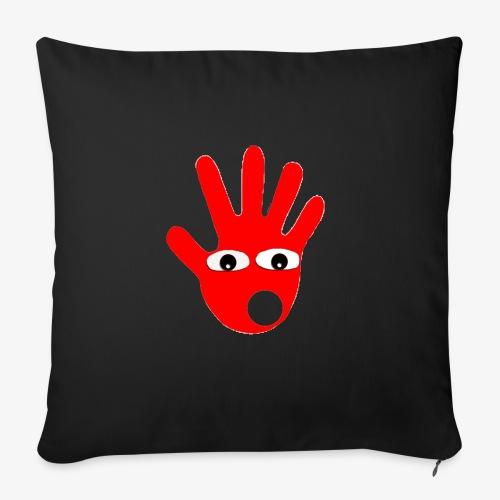 Hände mit Augen - Housse de coussin décorative 45x 45cm