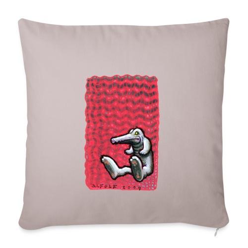 RossoGator - Copricuscino per divano, 45 x 45 cm