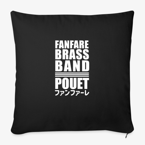 Fanfare Brass Band - Housse de coussin décorative 45x 45cm