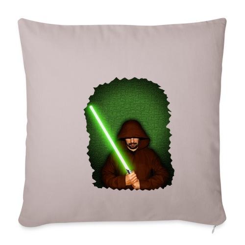Jedi warrior with green lightsaber - Copricuscino per divano, 45 x 45 cm