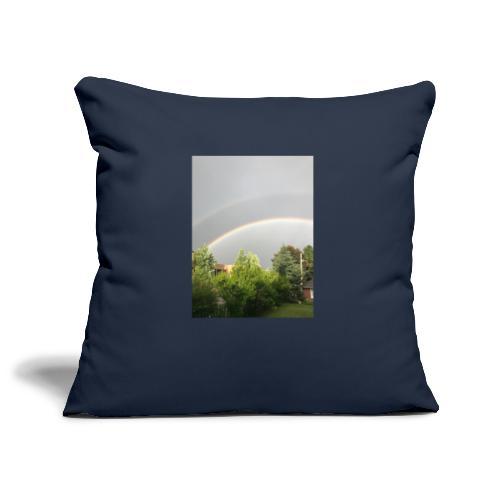 Arcobaleno - Copricuscino per divano, 45 x 45 cm