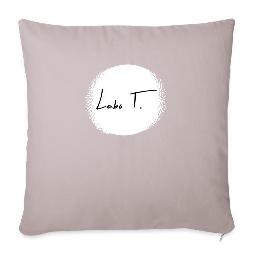 Labo T. - white - Housse de coussin décorative 45x 45cm