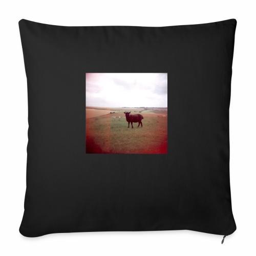 Original Artist design * Black Sheep - Sofa pillowcase 17,3'' x 17,3'' (45 x 45 cm)