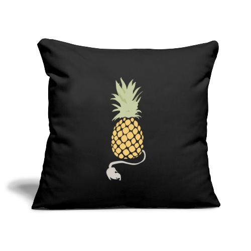 Pineapple demon - Sofa pillowcase 17,3'' x 17,3'' (45 x 45 cm)