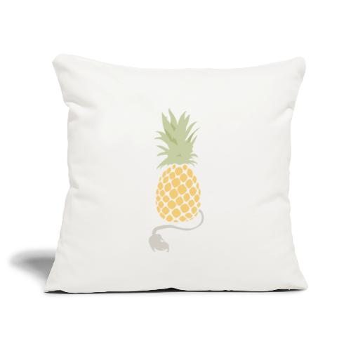 Pineapple demon - Sofa pillowcase 17,3'' x 17,3'' (45 x 45 cm)