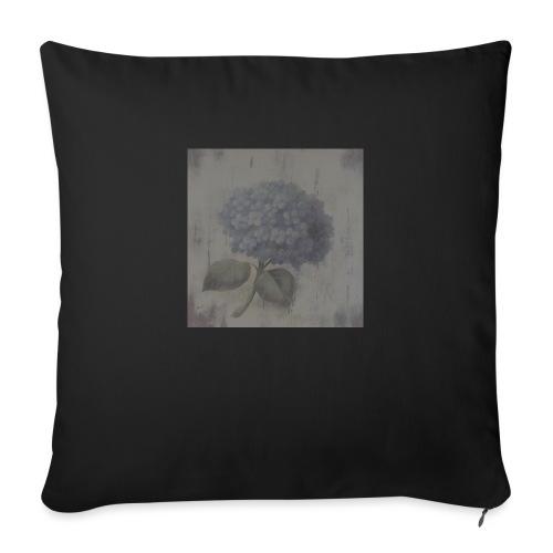Blue Flower Boquet - Sofa pillowcase 17,3'' x 17,3'' (45 x 45 cm)