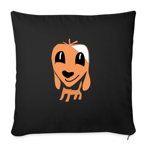 Hundefreund - Sofa pillowcase 17,3'' x 17,3'' (45 x 45 cm)