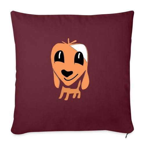 Hundefreund - Sofa pillowcase 17,3'' x 17,3'' (45 x 45 cm)