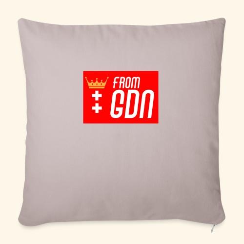 #fromGDN - Poszewka na poduszkę 45 x 45 cm