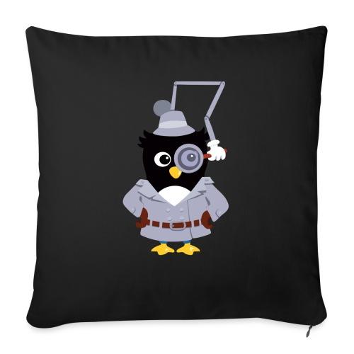 Pingouin Gadget - Housse de coussin décorative 45x 45cm