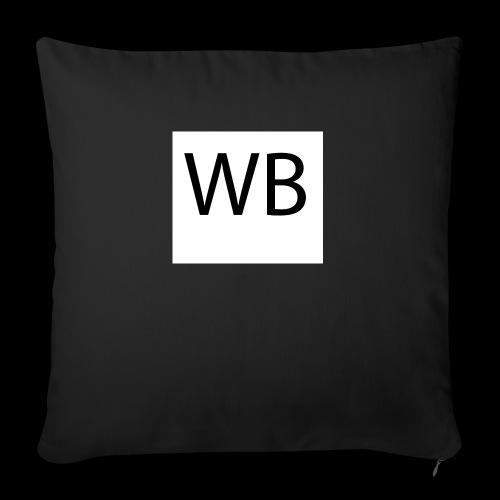WB Logo - Sofakissenbezug 44 x 44 cm