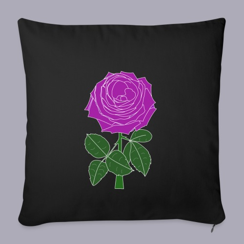 Landryn Design - Pink rose - Sofa pillowcase 17,3'' x 17,3'' (45 x 45 cm)
