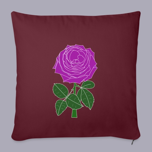 Landryn Design - Pink rose - Sofa pillowcase 17,3'' x 17,3'' (45 x 45 cm)