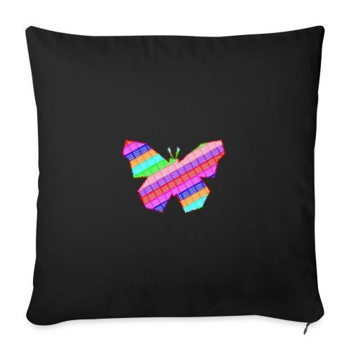 Papillon - Housse de coussin décorative 45x 45cm