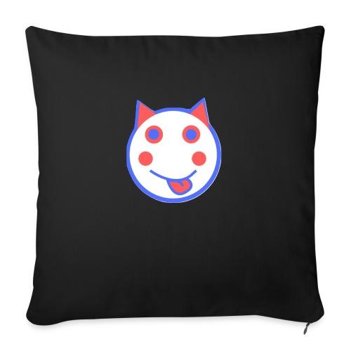 Alf Cat RWB | Alf Da Cat - Sofa pillowcase 17,3'' x 17,3'' (45 x 45 cm)