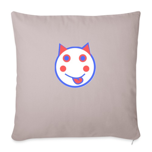 Alf Cat RWB | Alf Da Cat - Sofa pillowcase 17,3'' x 17,3'' (45 x 45 cm)