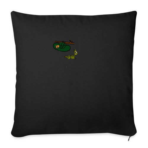Sloth + Llama - Sofa pillowcase 17,3'' x 17,3'' (45 x 45 cm)