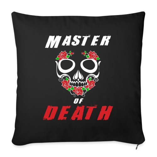 Master of death - white - Poszewka na poduszkę 45 x 45 cm
