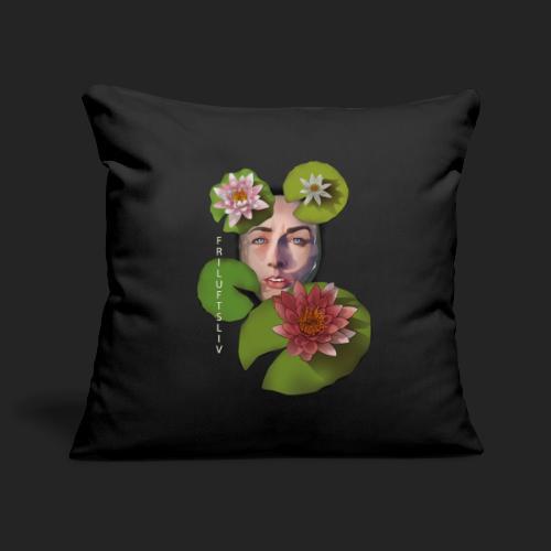 Friluftsliv L'art de se connecter avec la nature - Housse de coussin décorative 45x 45cm