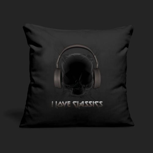 I love classics Black - Housse de coussin décorative 45x 45cm