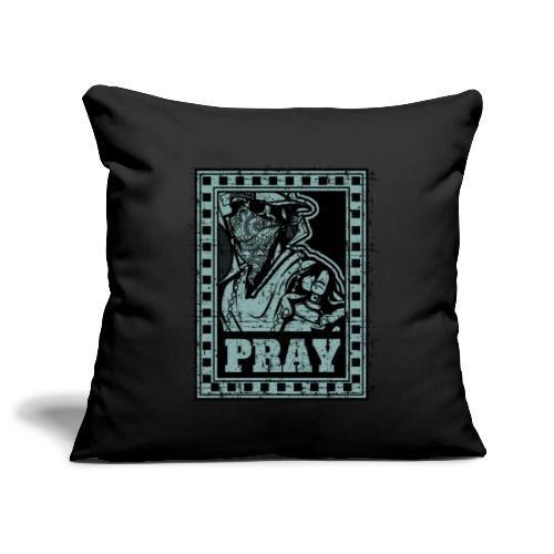Pray - Copricuscino per divano, 45 x 45 cm