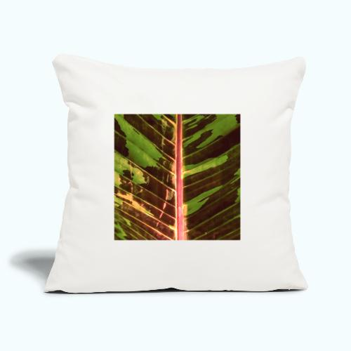 Bananas leaf watercolor - Sofa pillowcase 17,3'' x 17,3'' (45 x 45 cm)