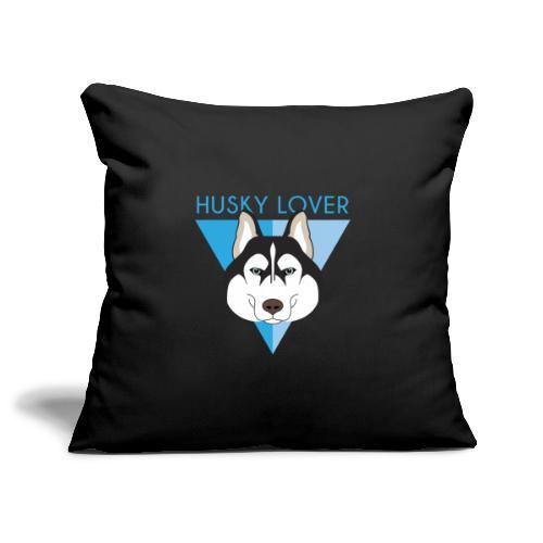 Husky - Blue - Copricuscino per divano, 45 x 45 cm