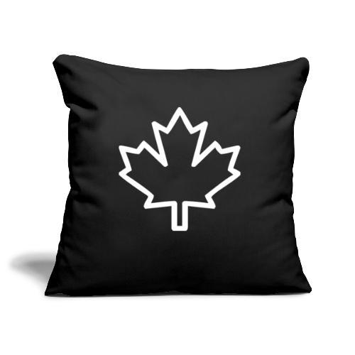 Kanada Symbol Ahorn Blatt Pflanze Nation - Sofakissenbezug 44 x 44 cm