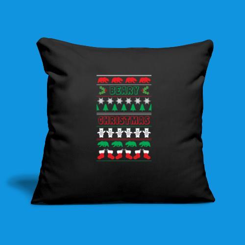 Beary Christmas.png - Sofa pillowcase 17,3'' x 17,3'' (45 x 45 cm)