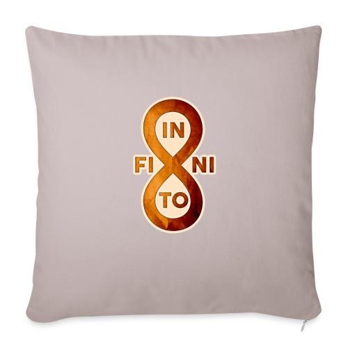 Infinito - Funda de cojín, 45 x 45 cm