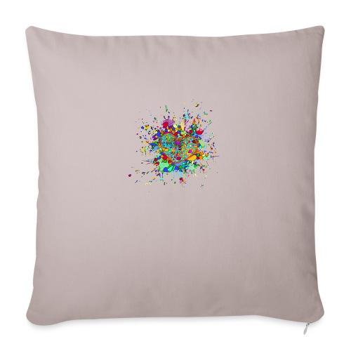Strong Heart - Sofa pillowcase 17,3'' x 17,3'' (45 x 45 cm)