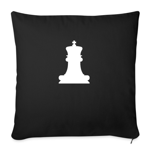 The White King - Sofa pillowcase 17,3'' x 17,3'' (45 x 45 cm)