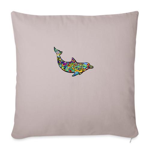 Dolphin - Sofa pillowcase 17,3'' x 17,3'' (45 x 45 cm)