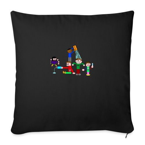 Water Fight - Sofa pillowcase 17,3'' x 17,3'' (45 x 45 cm)