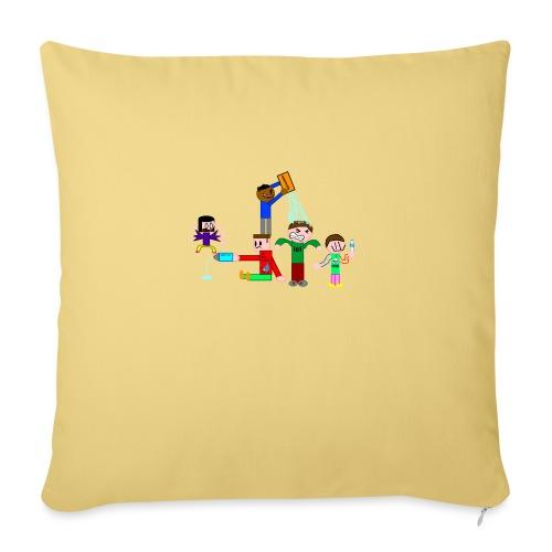 Water Fight - Sofa pillowcase 17,3'' x 17,3'' (45 x 45 cm)