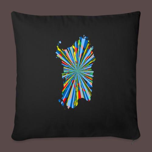 Sardegna Esplosione di Colori - Copricuscino per divano, 45 x 45 cm