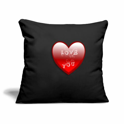Love You - Sofakissenbezug 44 x 44 cm
