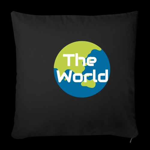 The World Earth - Pudebetræk 45 x 45 cm