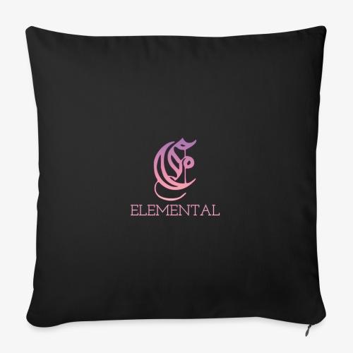 Elemental Pink - Sofa pillowcase 17,3'' x 17,3'' (45 x 45 cm)