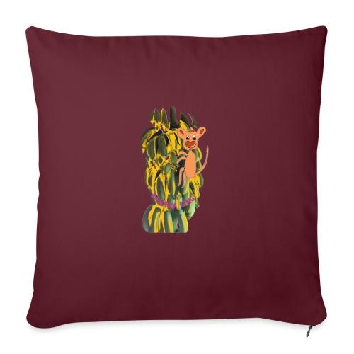 Bananas king - Sofa pillowcase 17,3'' x 17,3'' (45 x 45 cm)