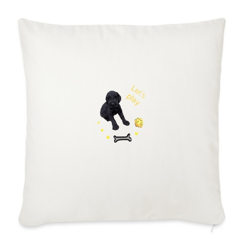 Giant Schnauzer puppy - Sofa pillowcase 17,3'' x 17,3'' (45 x 45 cm)