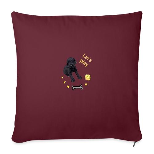 Giant Schnauzer puppy - Sofa pillowcase 17,3'' x 17,3'' (45 x 45 cm)