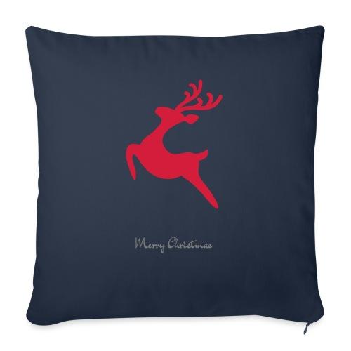 Caribou 8, Merry Christma - Housse de coussin décorative 45x 45cm